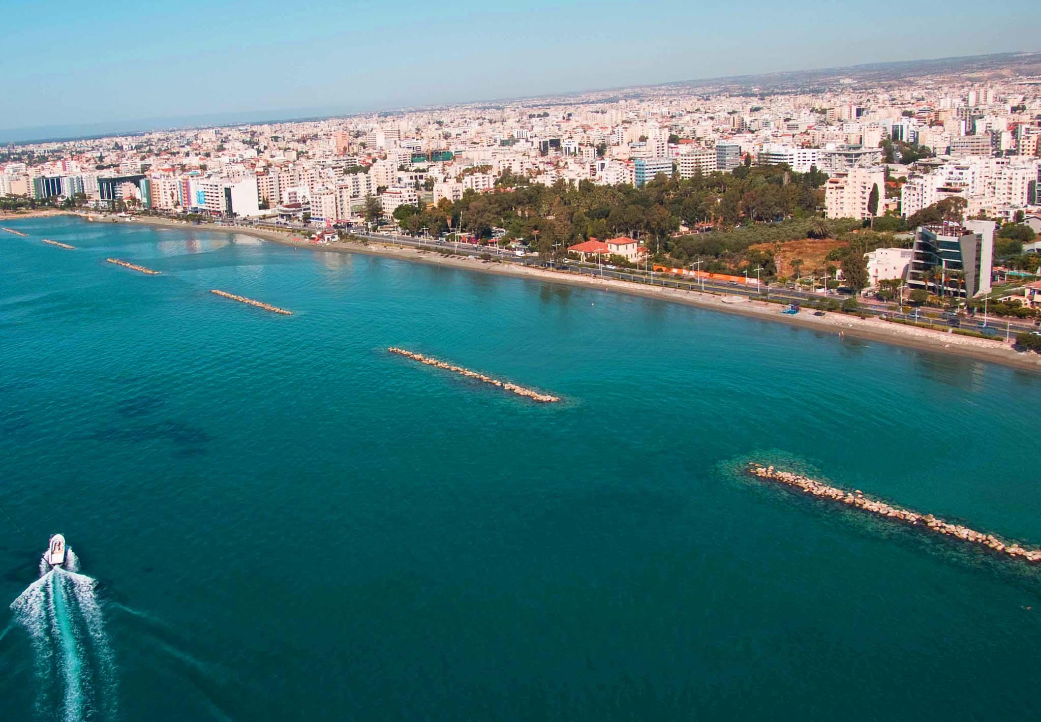 Пляж лимассол на кипре фото